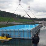Уникальный плавающий бассейн скиммерного типа фото 24