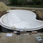 Композитный бассейн Сумы фото